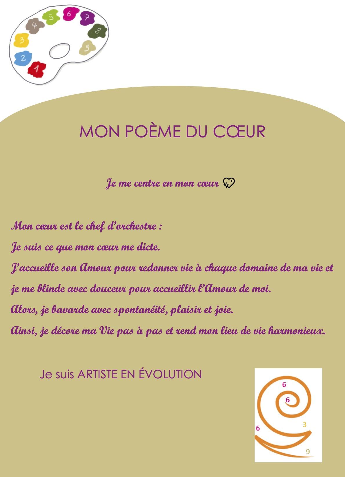 Irène saunier Coach Numérologue Intuition - Poèmes inspirés