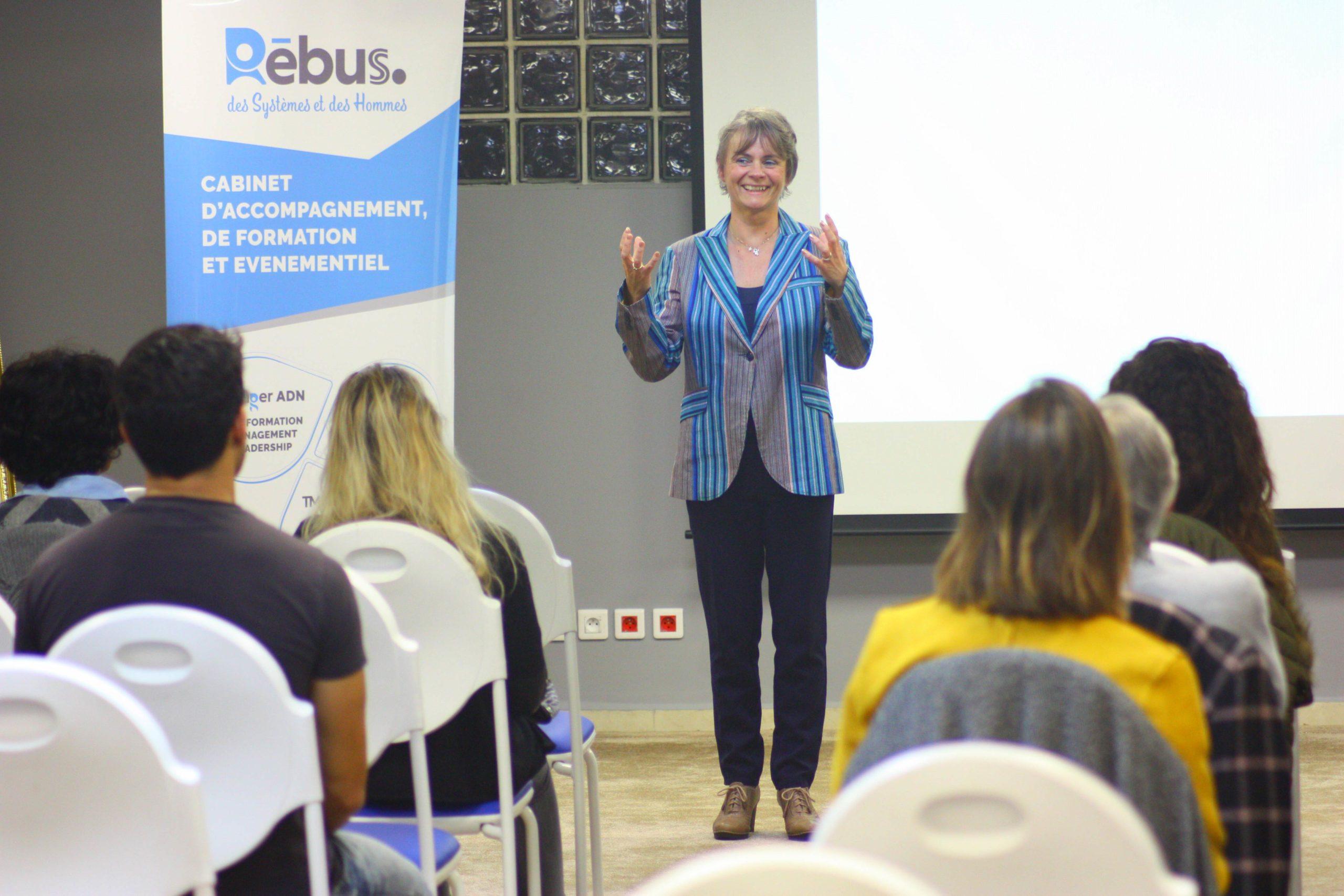 Accéder au bonheur de vivre - Conférence inspirationnelle - Irène Saunier